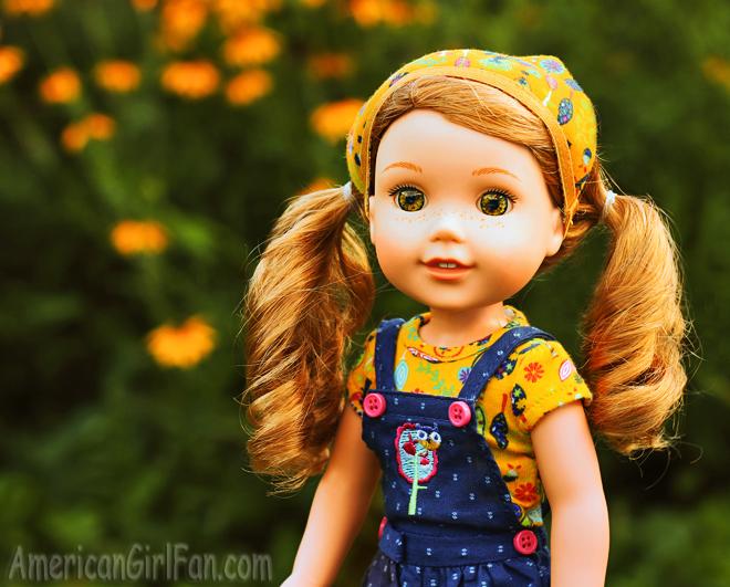 American Girl Wellie Wishers Willa Doll