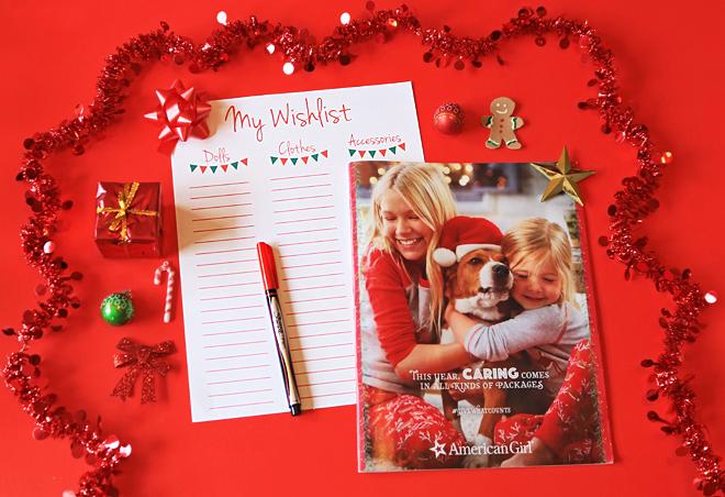 American Girl Doll Christmas Wishlist Printable
