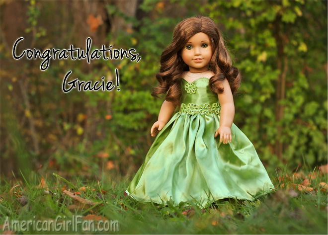 Congratulations Gracie