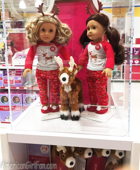 American Girl Festive Reindeer Pajamas