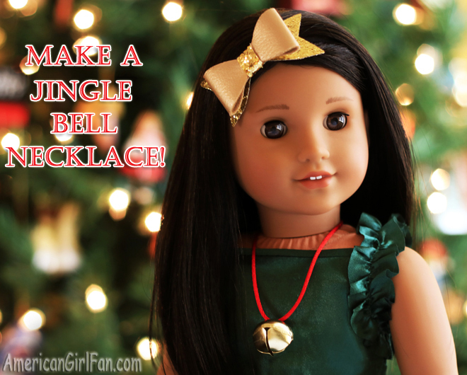 Make A Jingle Bell Necklace Craft