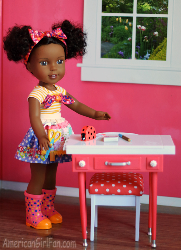 American Girl WellieWishers Doll Kendall