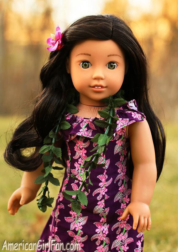 American Girl Doll Nanea Holoku Dress