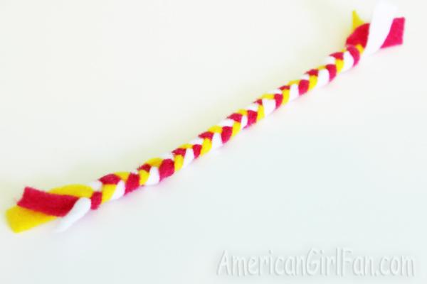 Fully braided