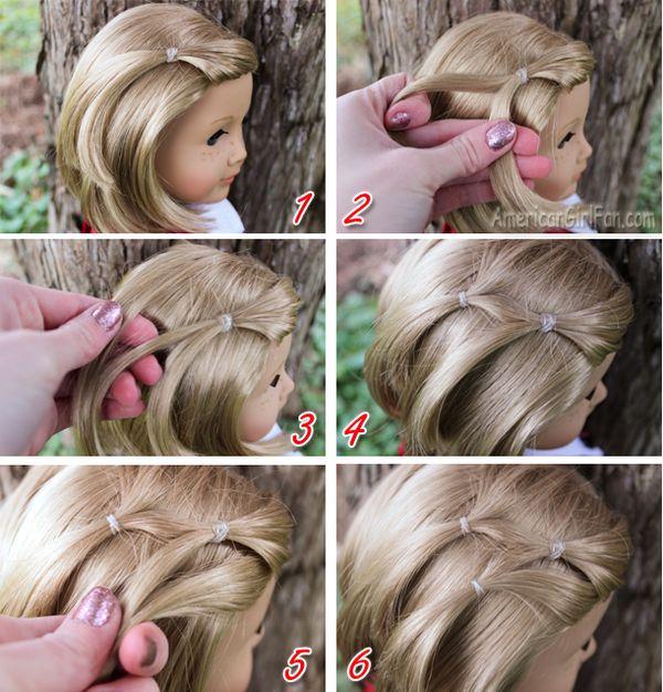 Wondrous Hairstyles For Short Hair Dolls Baby Dolls Ideas Short Hairstyles Gunalazisus
