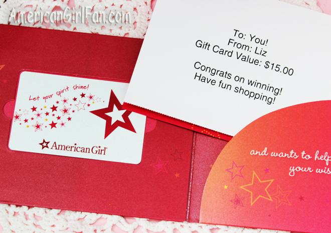 American Girl Giftcard