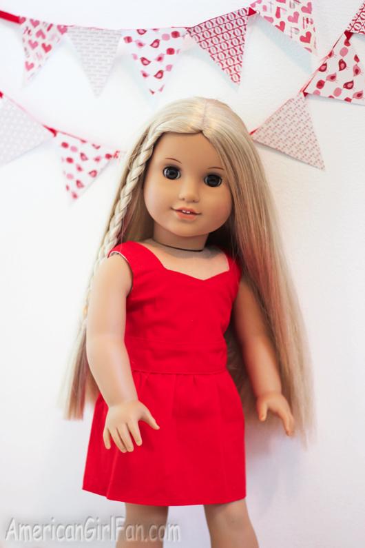 Julie in dress