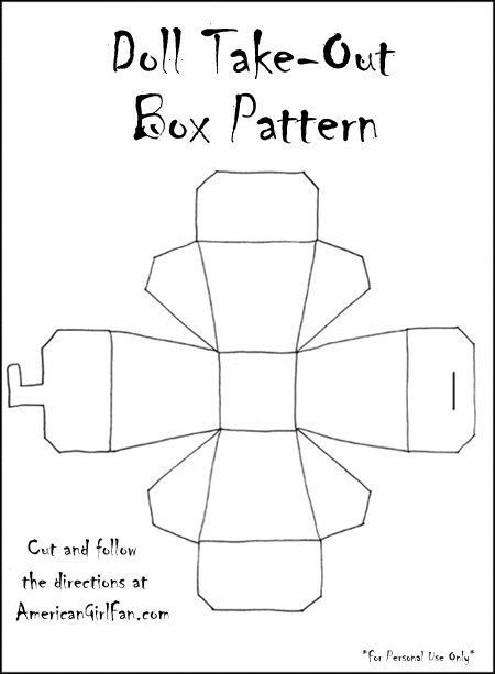 Doll Food Craft: Chow Mein and Chinese Takeout Box (Free Pattern ...