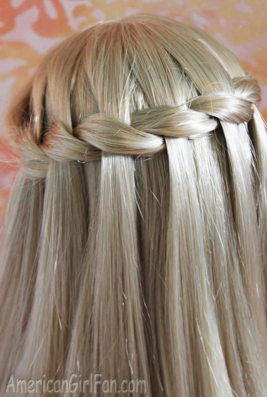 Hairstyle Waterfall Braid