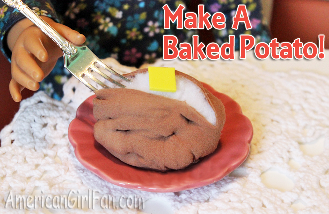 How to make a doll baked potato