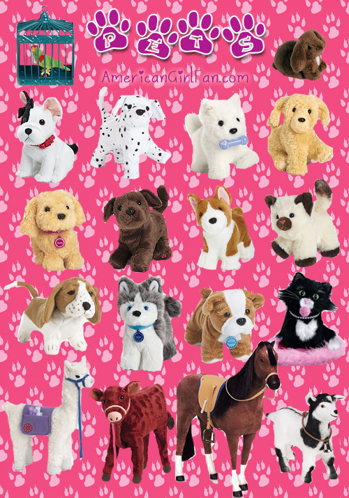 American Girl Doll Pets Picture