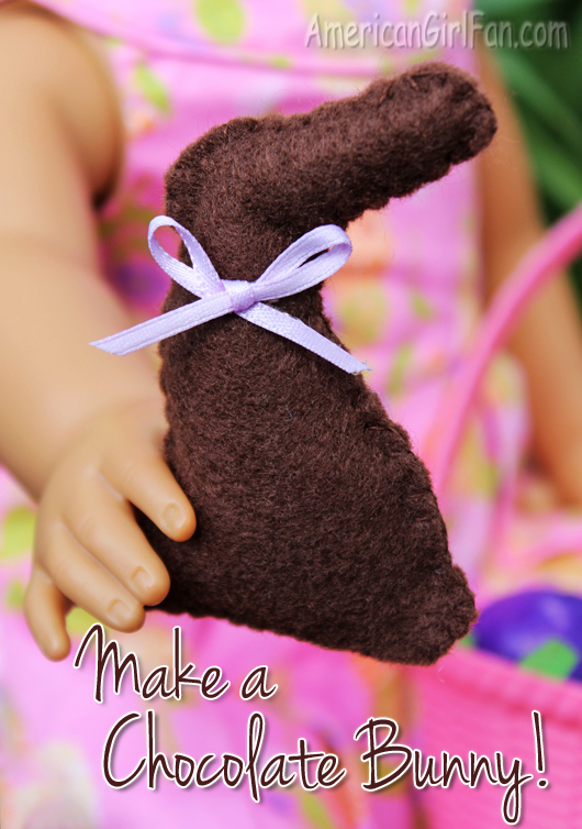 How To Make An American Girl Doll Chocolate Bunny