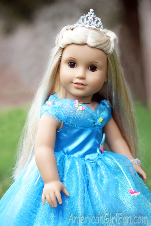 Lois Designs Cinderella Princess Doll Dress Giveaway