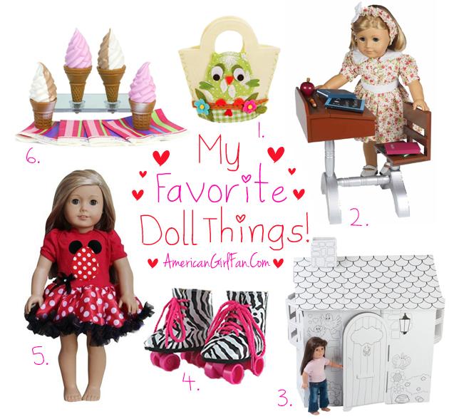 American Girl Fan Week 3 Doll Favorites