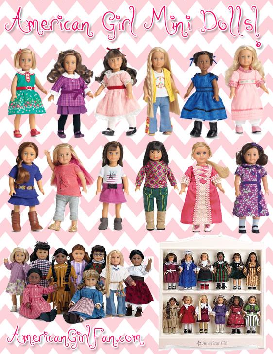 American Girl Mini Dolls Lets Talk