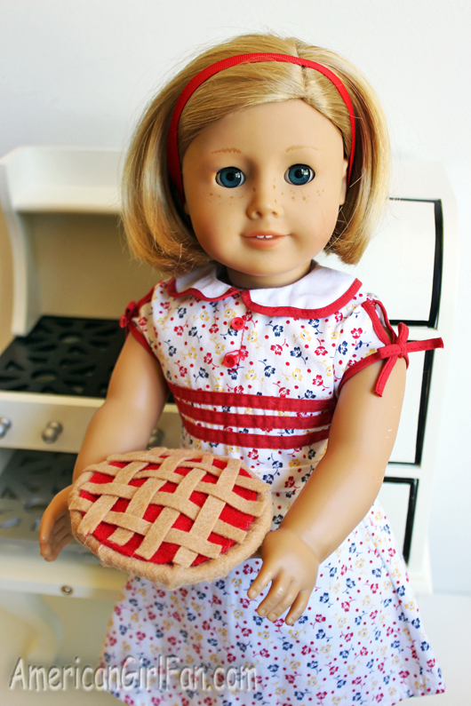 Kit Doll With Cherry Pie