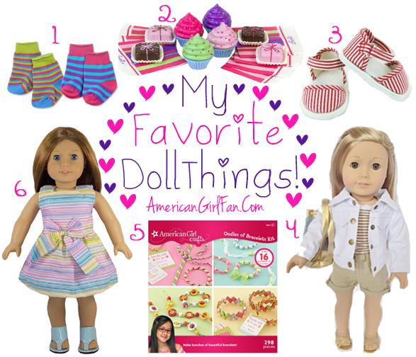 American Girl Fan Favorite Doll Things Week 12