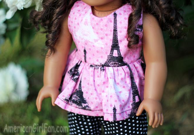 Paris Doll Shirt Closeup
