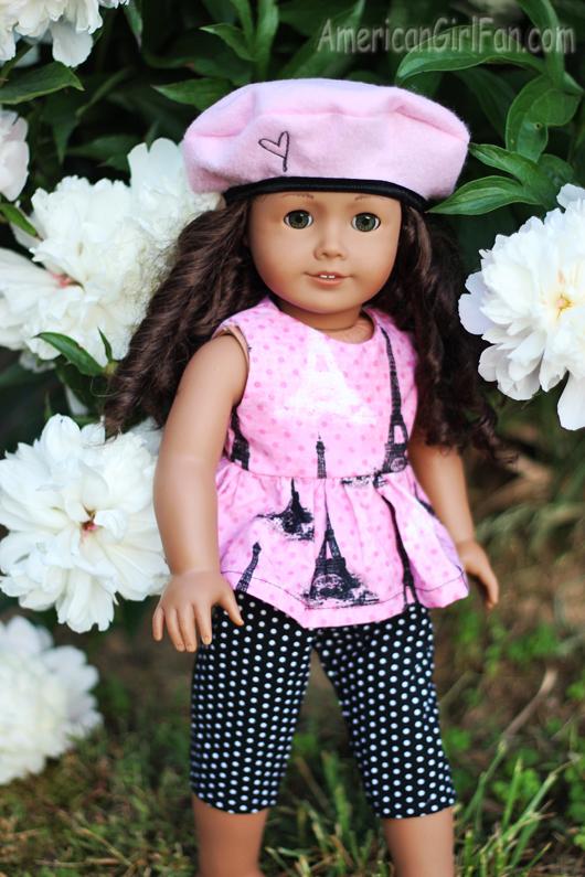 Gigi's Doll Creations Paris Outfit