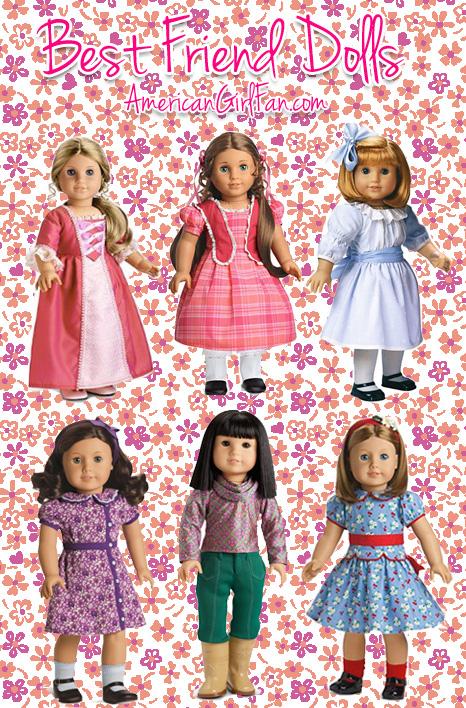 Best Friend American Girl Dolls