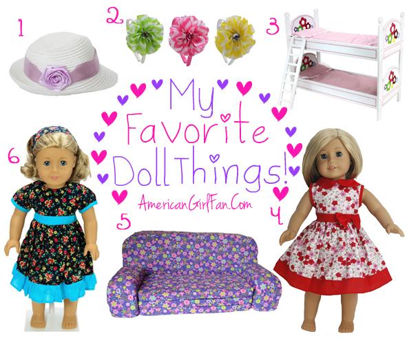 Week 17 American Girl Fan Favorite Doll Things