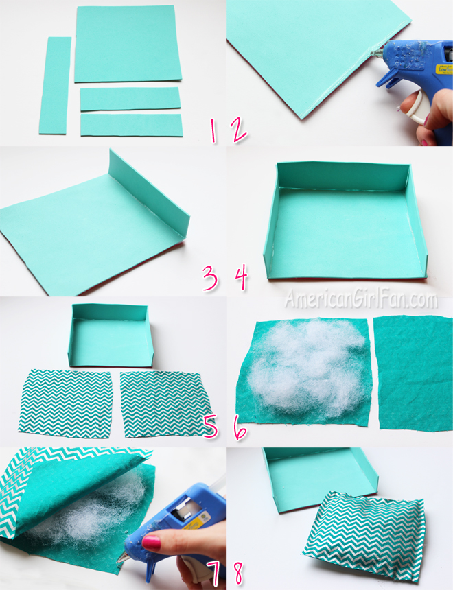 Doll Craft How To Make A Pet Bed Americangirlfan