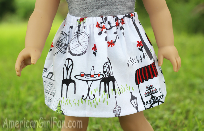 Other Side of Skirt