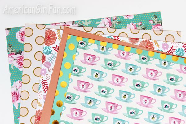 Doll Photography Fun Use Scrapbook Paper As Backdrops