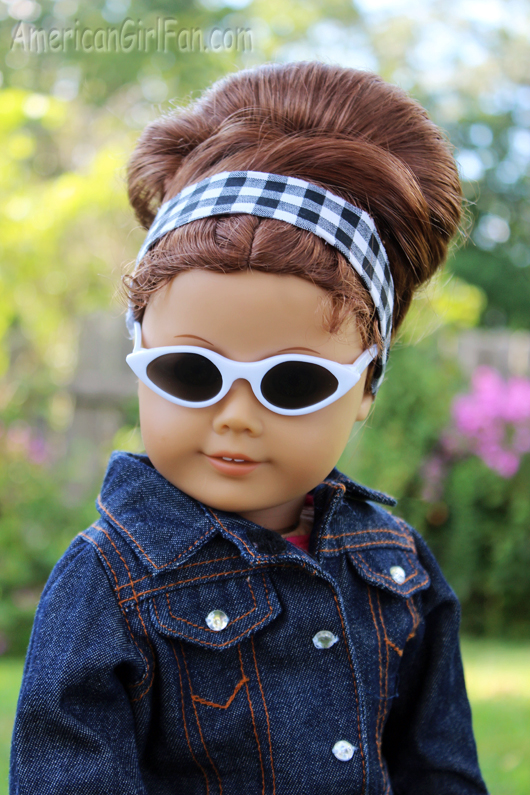 Retro Bouffant Bun American Girl Doll Hair