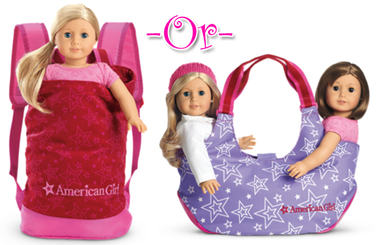 Doll Backpack Totes