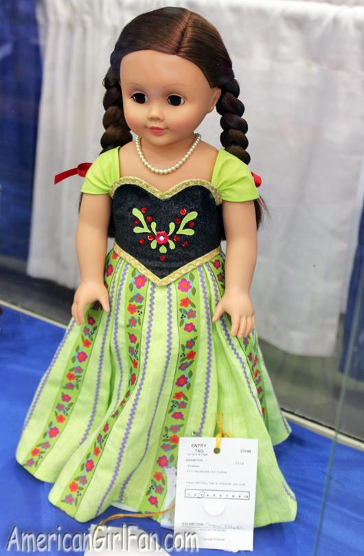 American Girl Doll Anna Frozen Dress