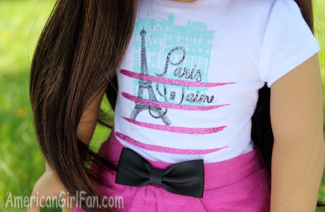 Grace American GirlShirt and Skirt