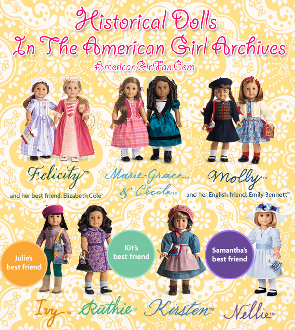 American Girl Historical Dolls In the Archives