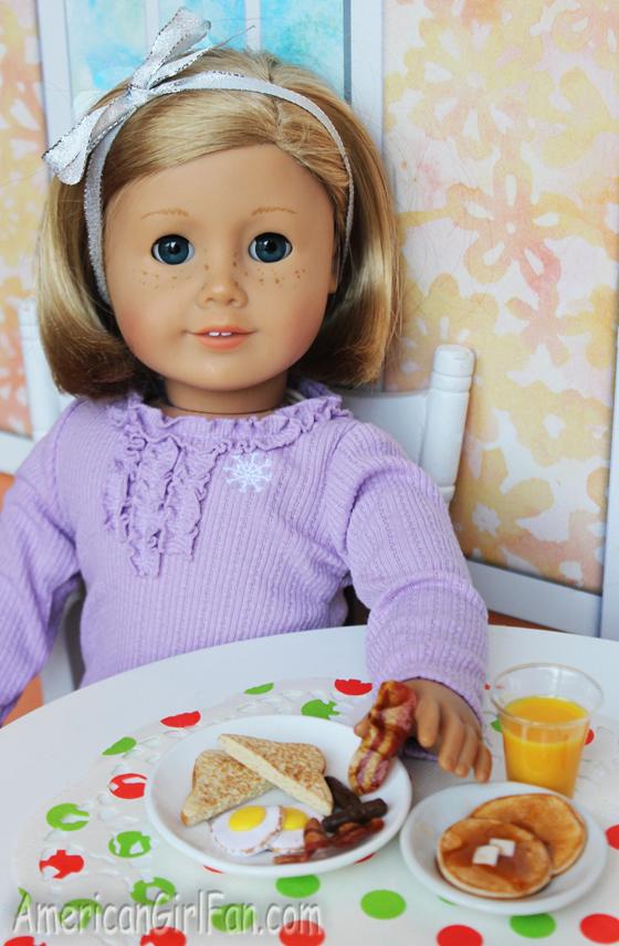 American Girl Doll Breakfast Food