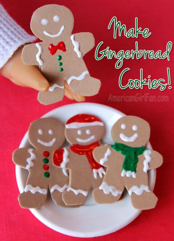 American Girl Doll Gingerbread Cookies