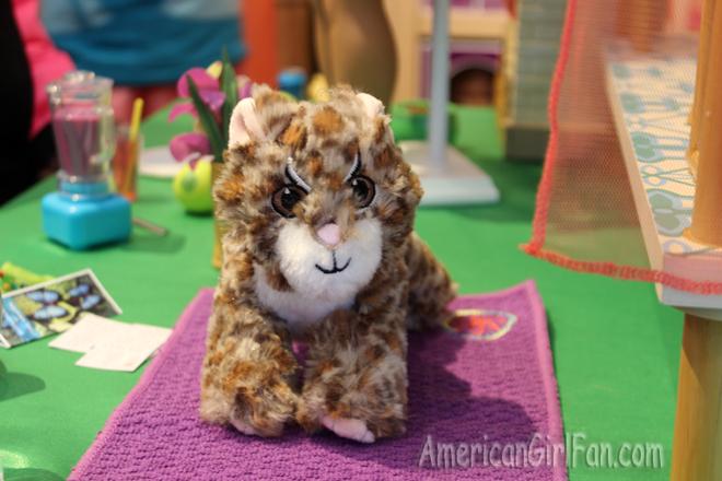 American Girl Doll Margay Cat