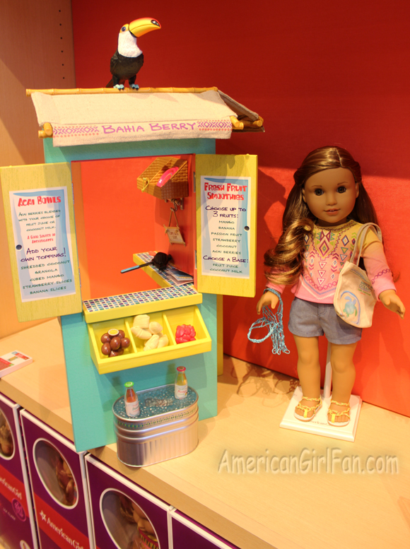 American Girl Lea Clark Fruit Stand Girl Doll of the Year 2016 NEW