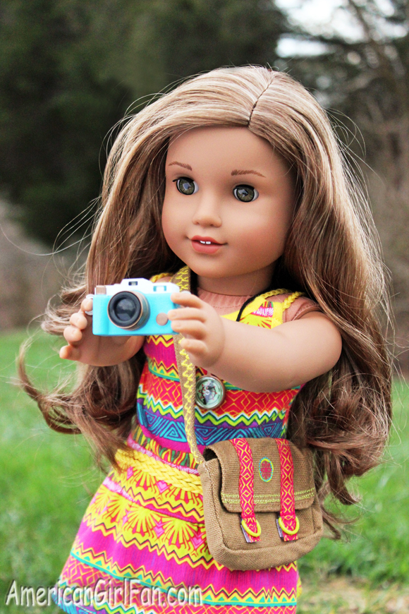 American Girl Doll Lea Clark Camera