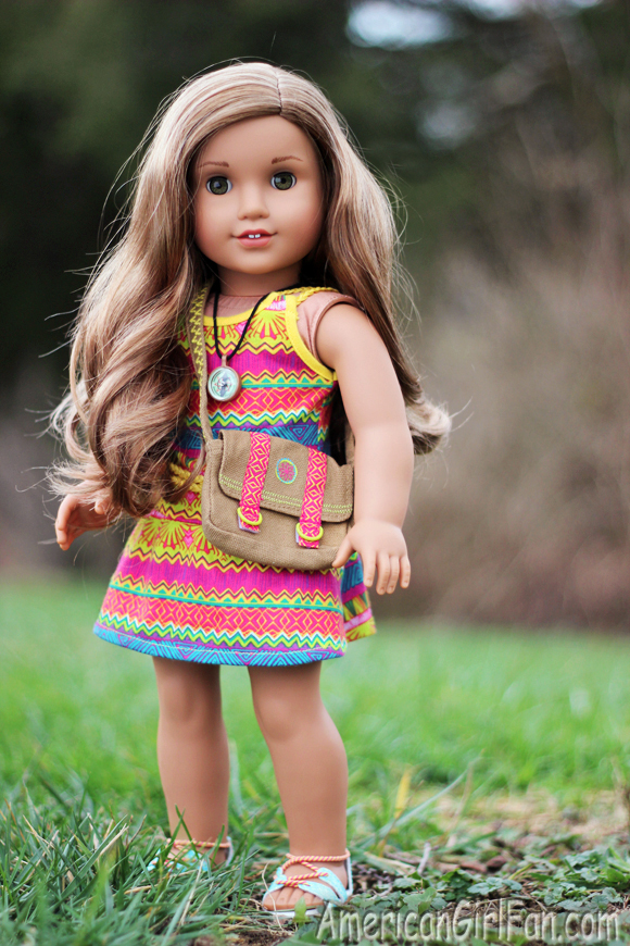 Lea Clark Girl Of The Year 2016 Doll Review Americangirlfan