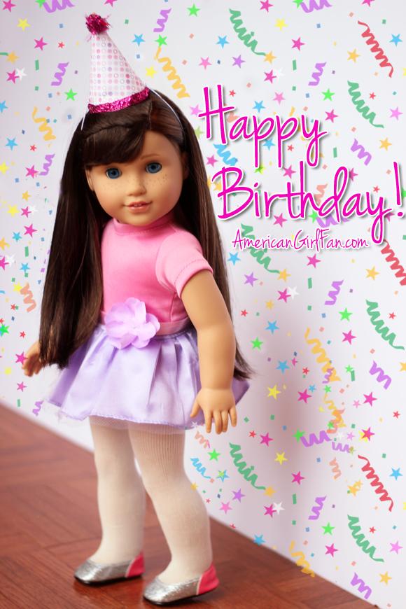 American Girl Doll Birthdays