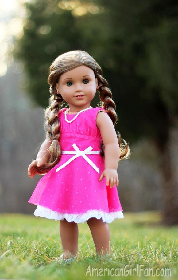 Phenomenal Lea39S Cute Amp Easy Hairstyles Americangirlfan Hairstyle Inspiration Daily Dogsangcom
