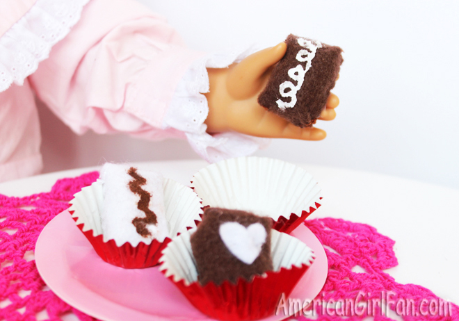 American Girl Doll Chocolate Craft