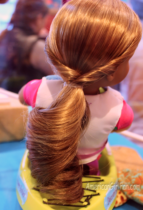 Lea Girl of the Year Hair style