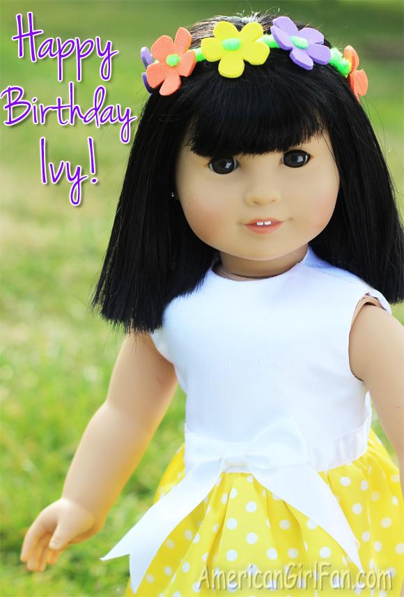American Girl Doll Flower Crown