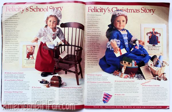 Throwback The American Girls Collection 1997 Catalog