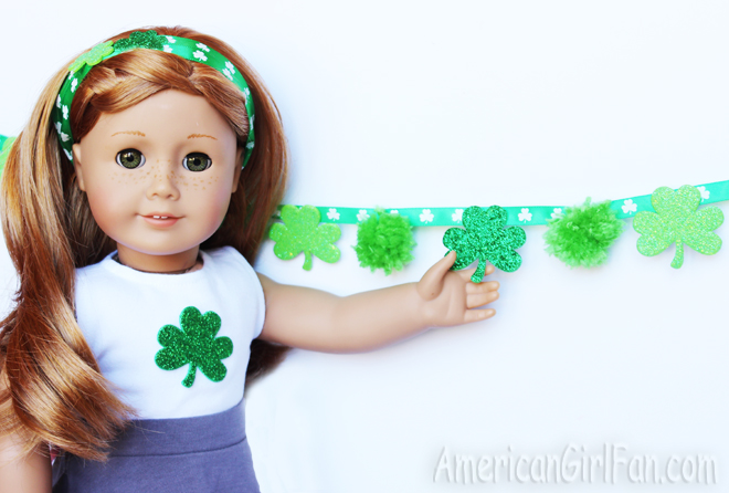 easy doll crafts for st patrick 39 s day americangirlfan On easy american girl doll crafts