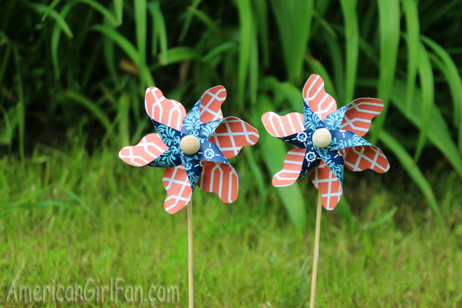 American Girl Doll Pinwheels
