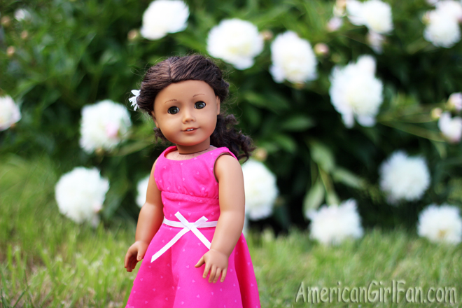 American Girl Doll Hairstyle Twisted Ponytail