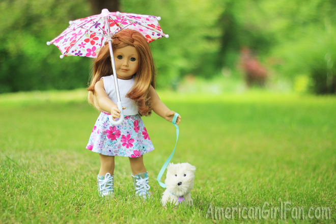 American Girl Coconut Dog