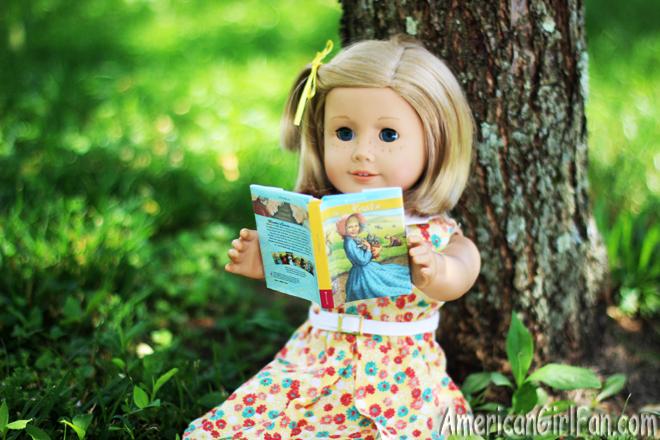 American Girl Doll Kit Reading